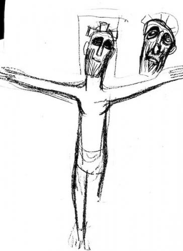 Mère Geneviève Gallois - Drawing