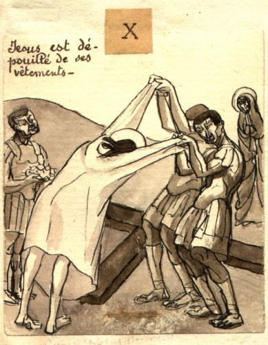 Mère Geneviève Gallois - Drawings